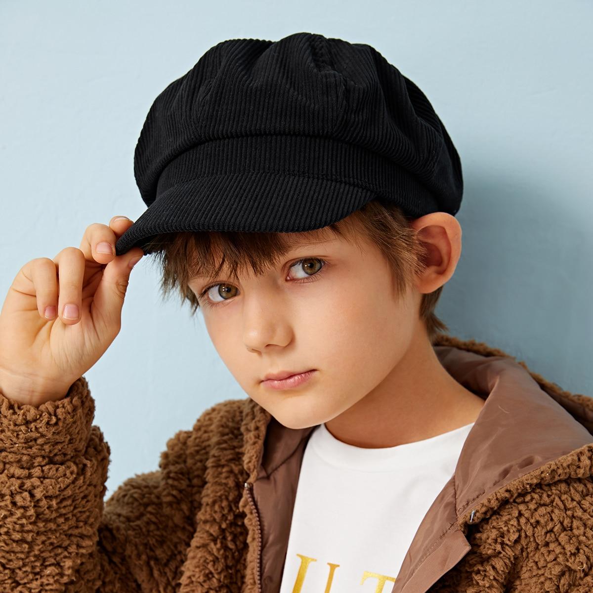 Geplooide Bakerboy-hoed voor kinderen