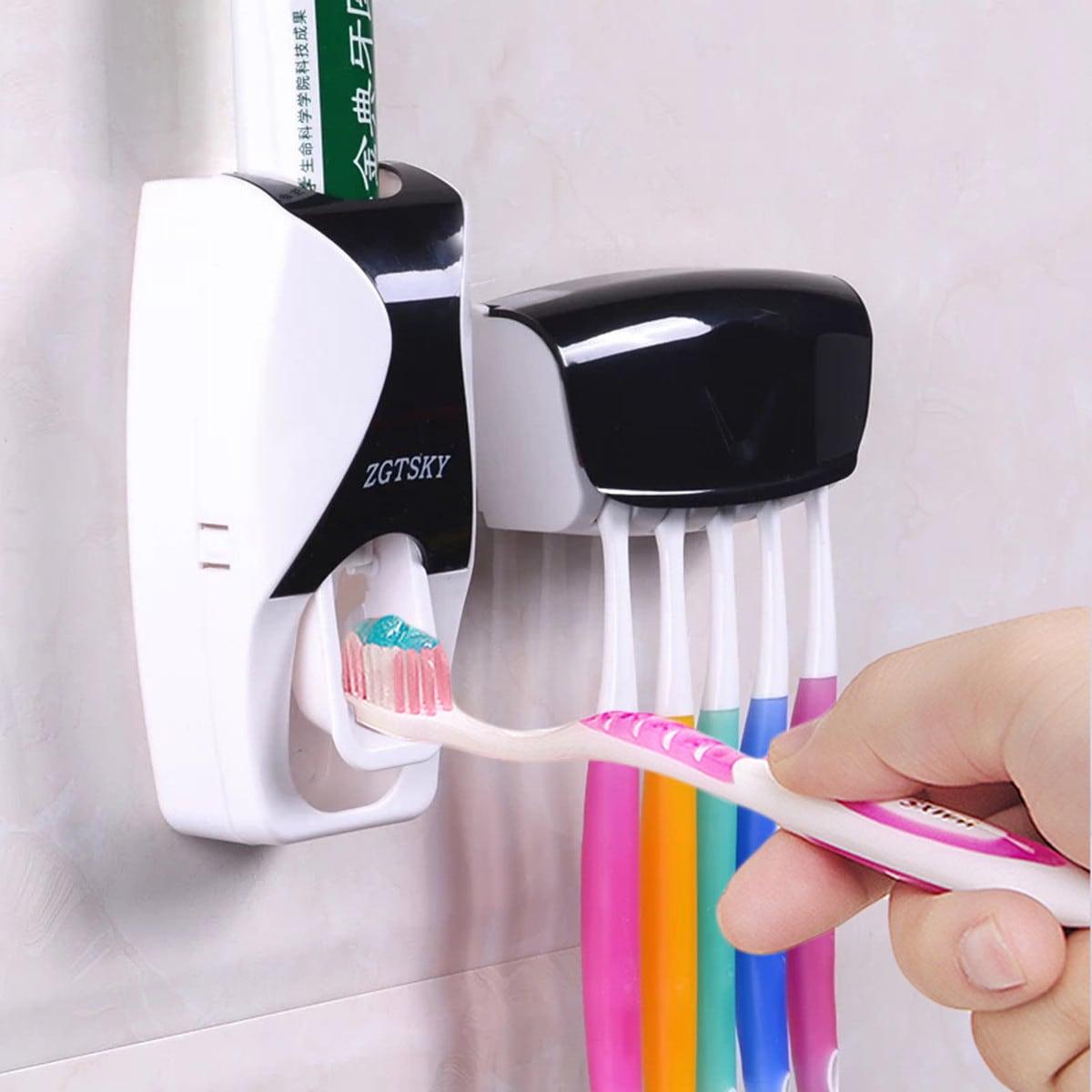 Veel kleurig Tandenborstel houder/rekje Badkamer opslag