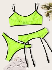 Garter | Green | Neon | Set