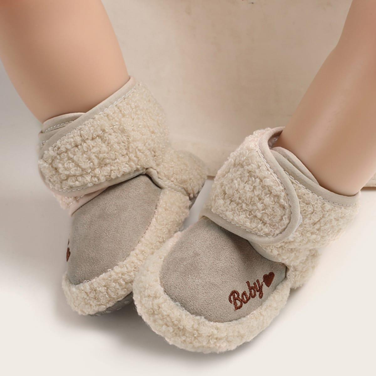 Khaki Comfortabel Baby laarsjes
