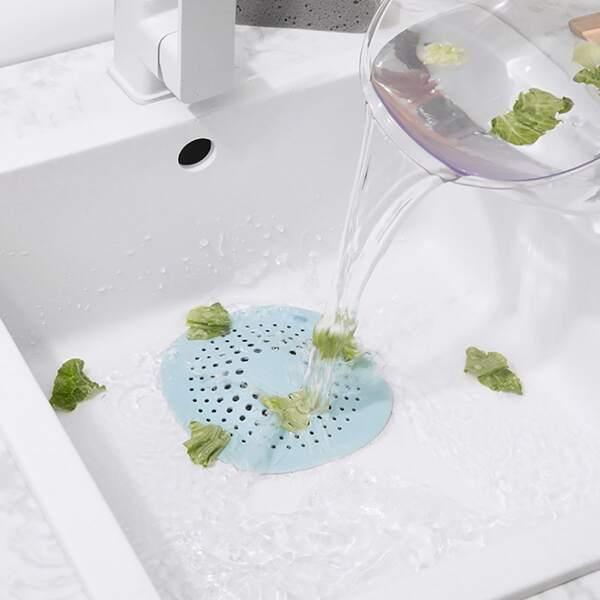 1pc Silicone Sink Strainer