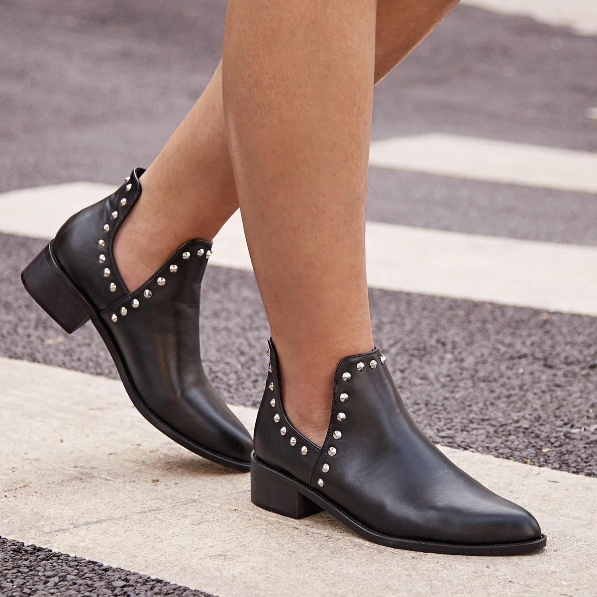Zwart Comfortabel Laarzen