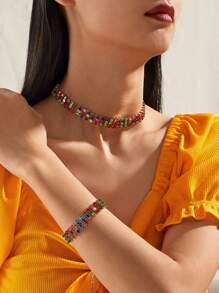 Rhinestone | Bracelet | Necklace | Decor