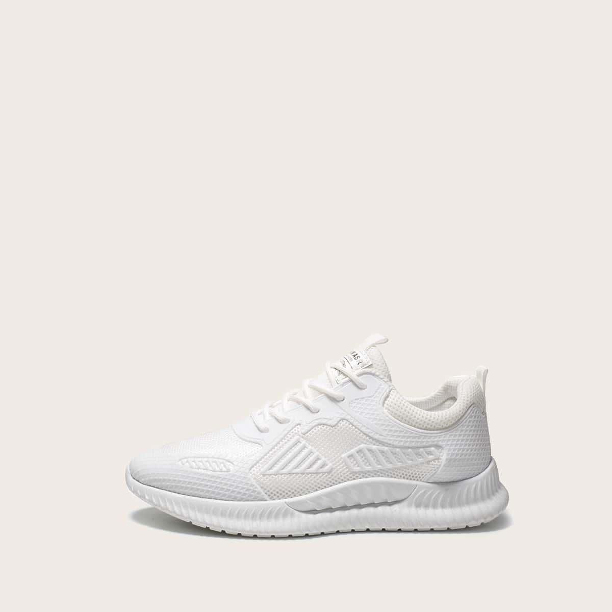 Wit Comfortabel Heren sneakers