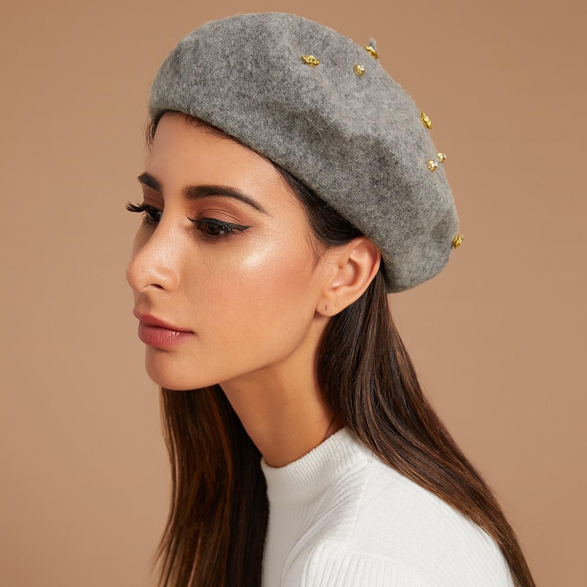 Strass & bloemdecor baretten