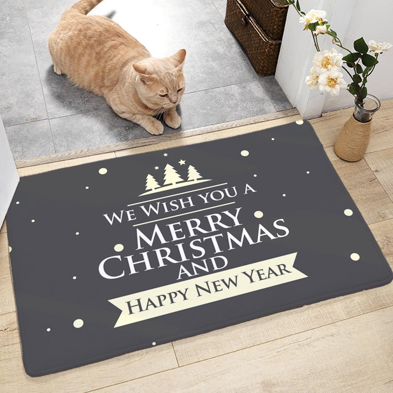 SHEIN / Weihnachten Slogan Graphic Floor Mat