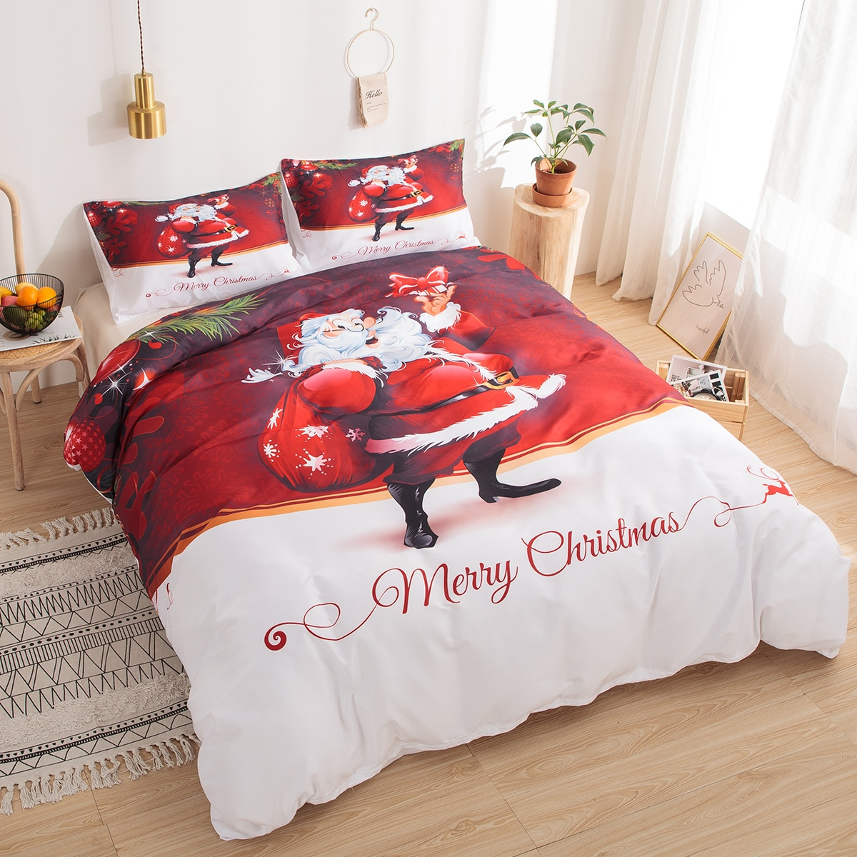 Santa Claus afdrukblad Set