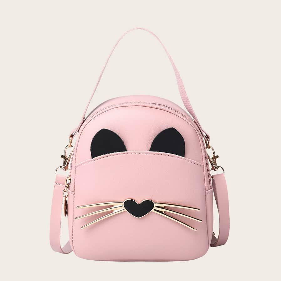 Рюкзак в форме кота для девочек фото