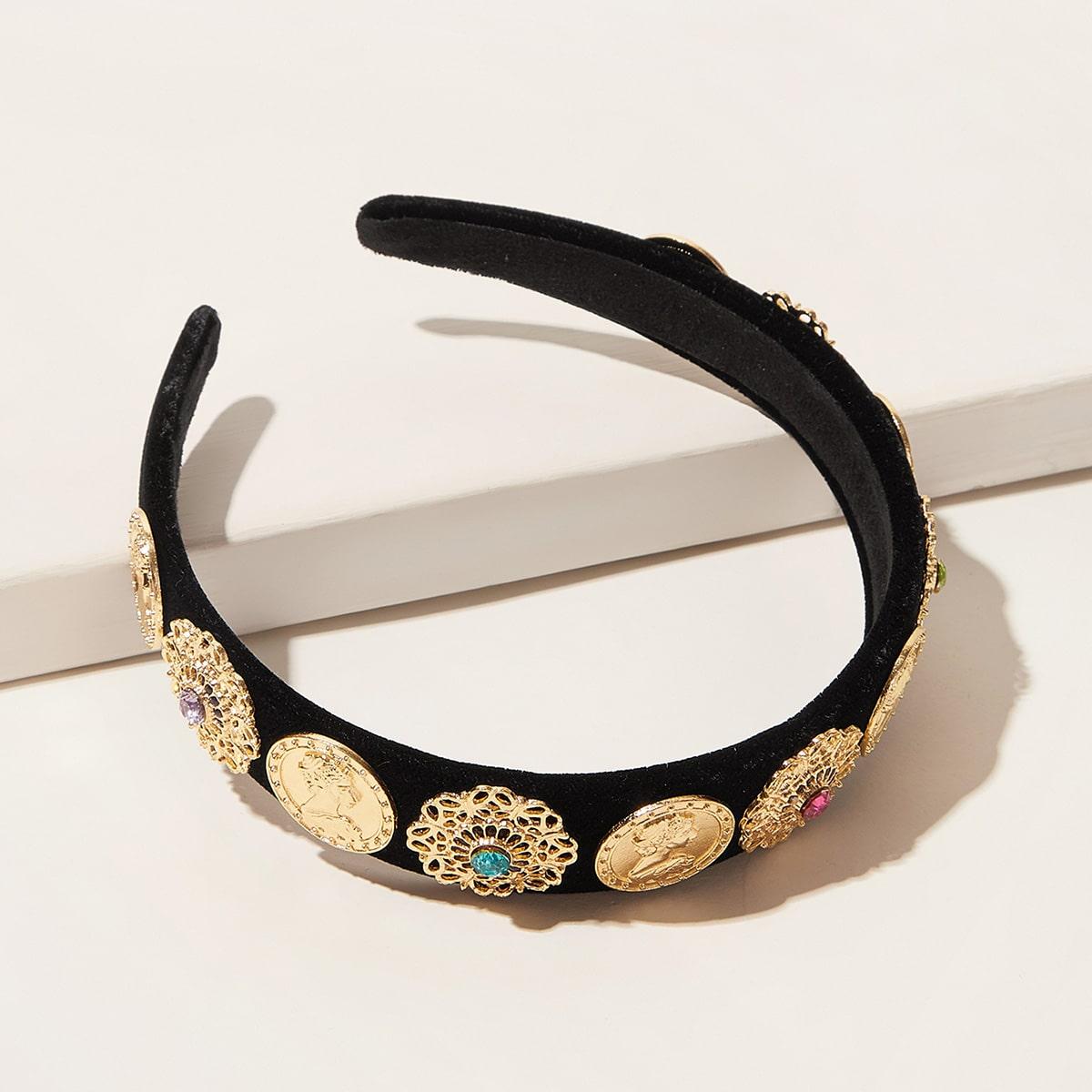 SHEIN / Stirnband mit Höhle und Blume Dekor
