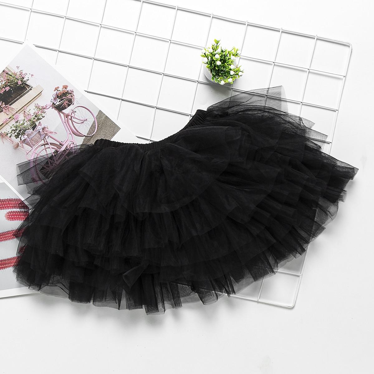 Сетчатая юбка для девочек от SHEIN