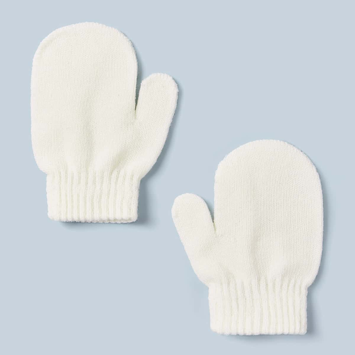 1 paar Toddler Kids Knit Gloves