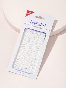 Sticker   Design   Stick   Nail