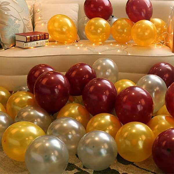 30pcs Random 10 Inch Balloon, Multicolor