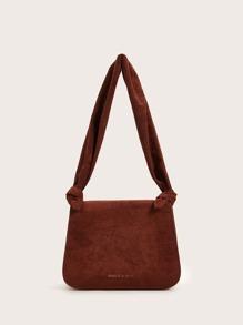 Suede | Strap | Tote | Bag