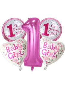 5pcs Baby Party Decorative Balloon Set