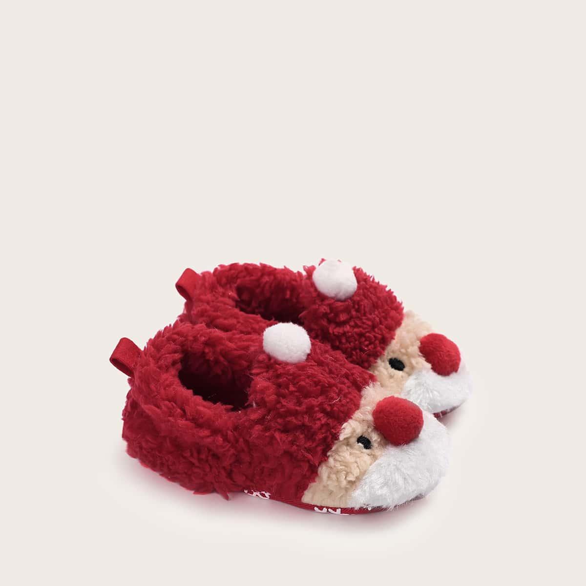Rood Comfortabel Baby platte schoentjes