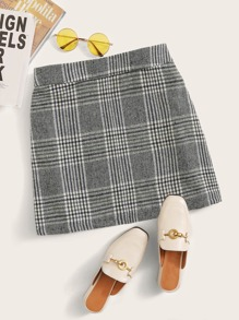 Plaid | Skirt | Mini