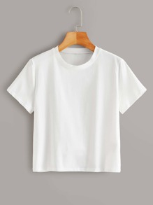 Crew Neck Basic T-Shirt