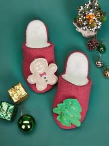 Gingerbread   Christmas   Slipper   Design   Decor   Man   Men