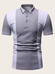 Stripe | Shirt | Polo | Cut | Men