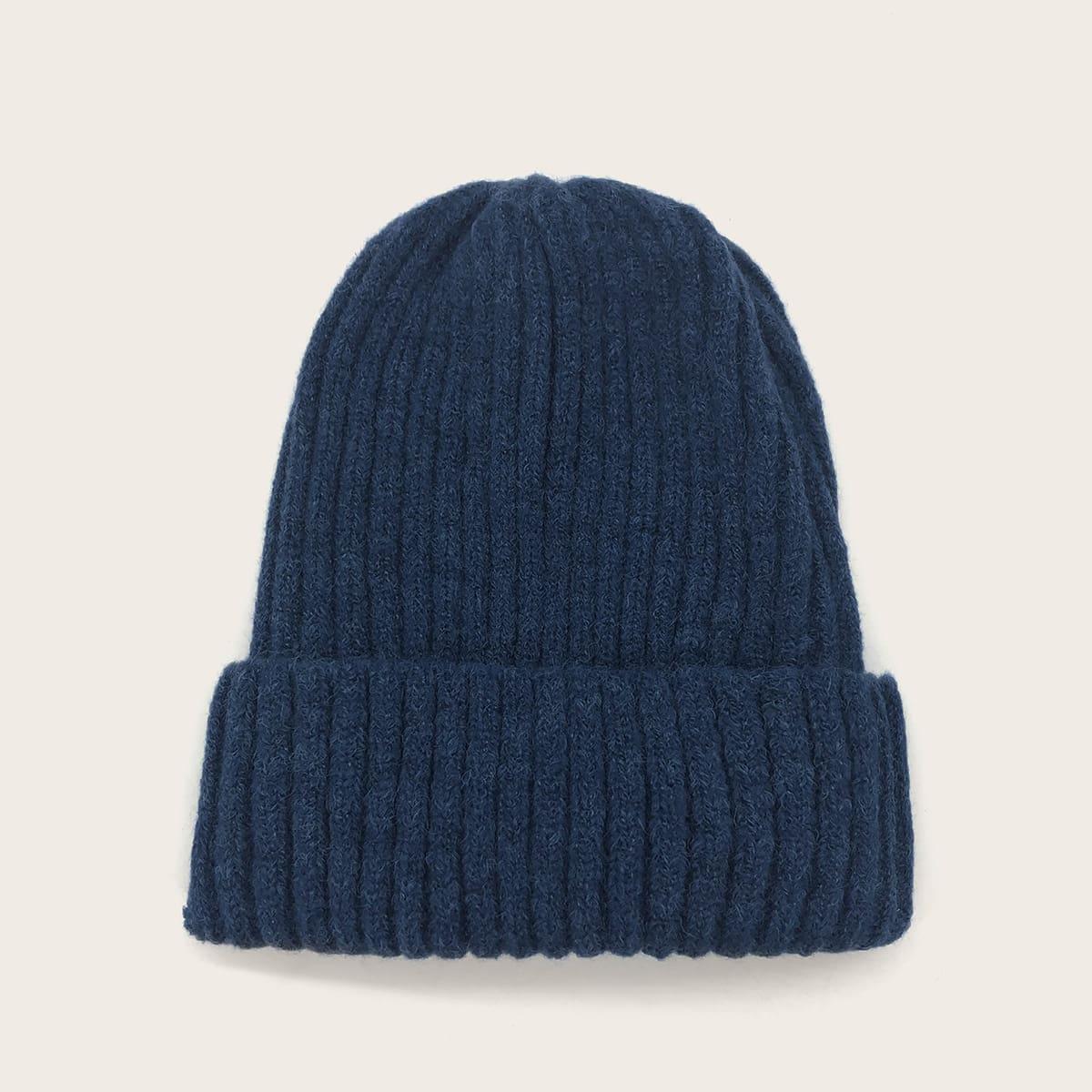 Мужская вязаная шапка от SHEIN