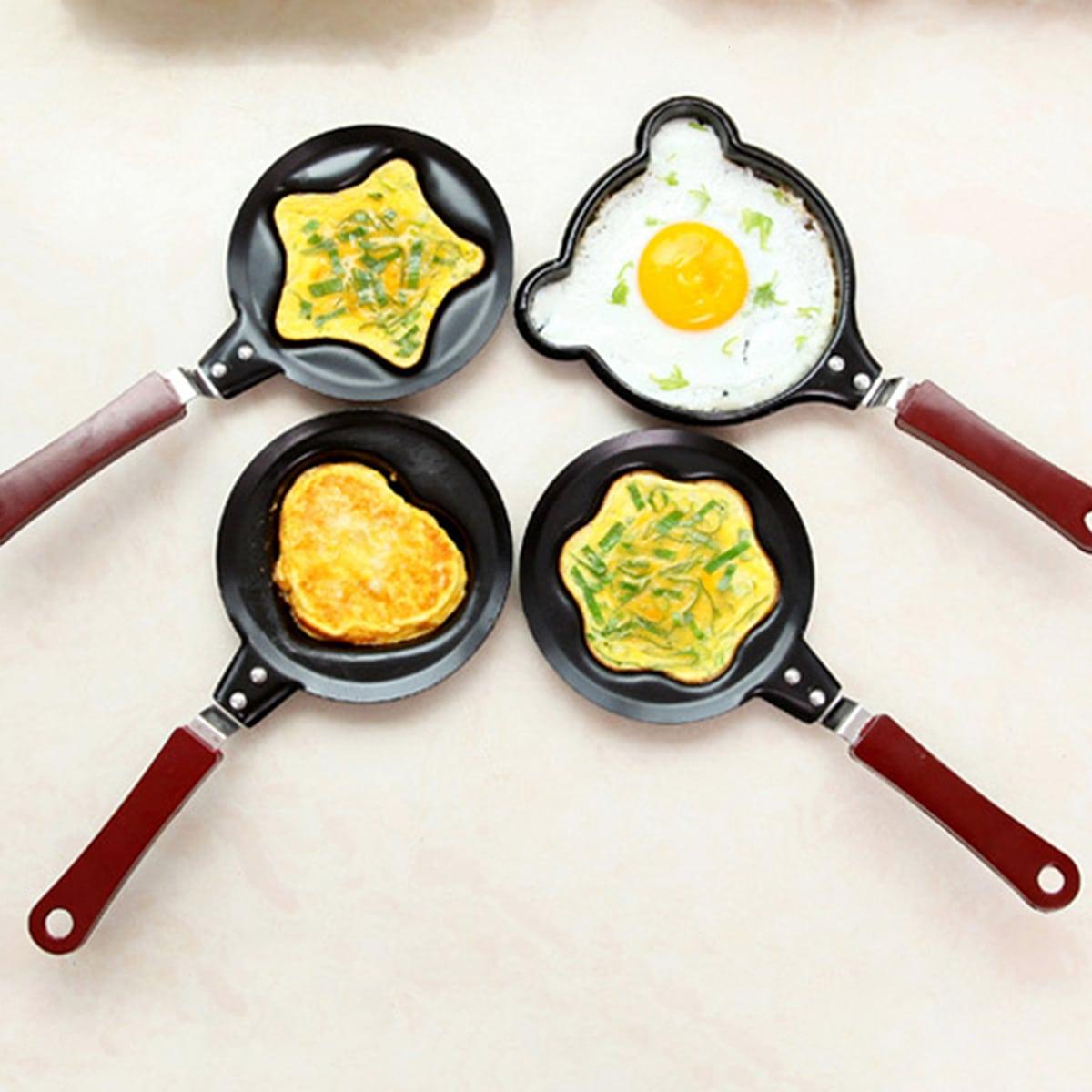 1pc willekeurig patroon omelet schimmel pot