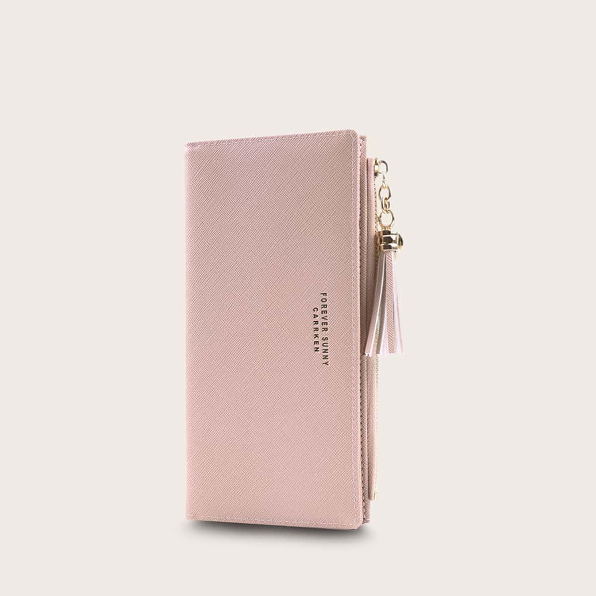 Складной кошелек с бахромой от SHEIN