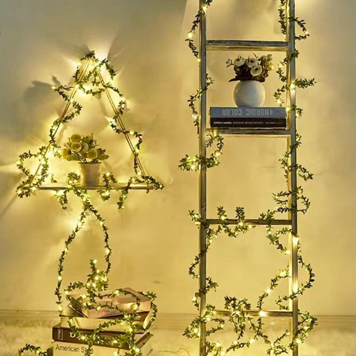 10 stks Lamp Kunstmatige Leaf Decor String Light