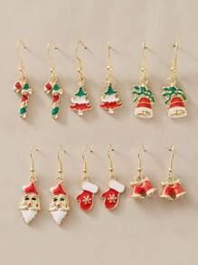 Christmas | Earring | Bell | Tree