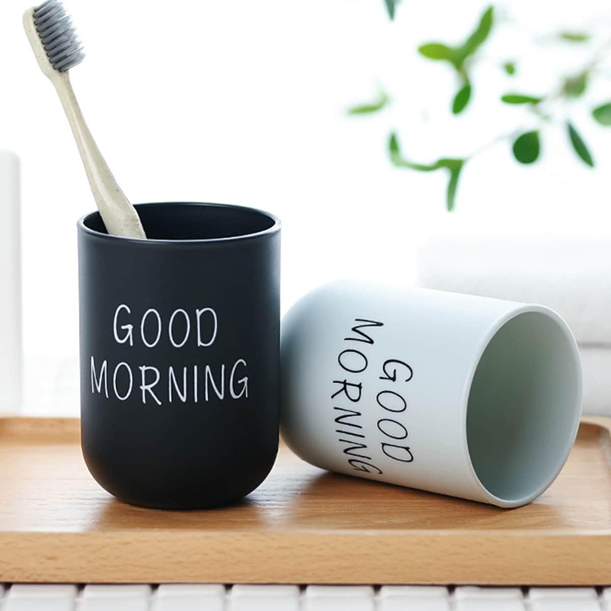 1 st Letter Grafische Tandenborstel Cup