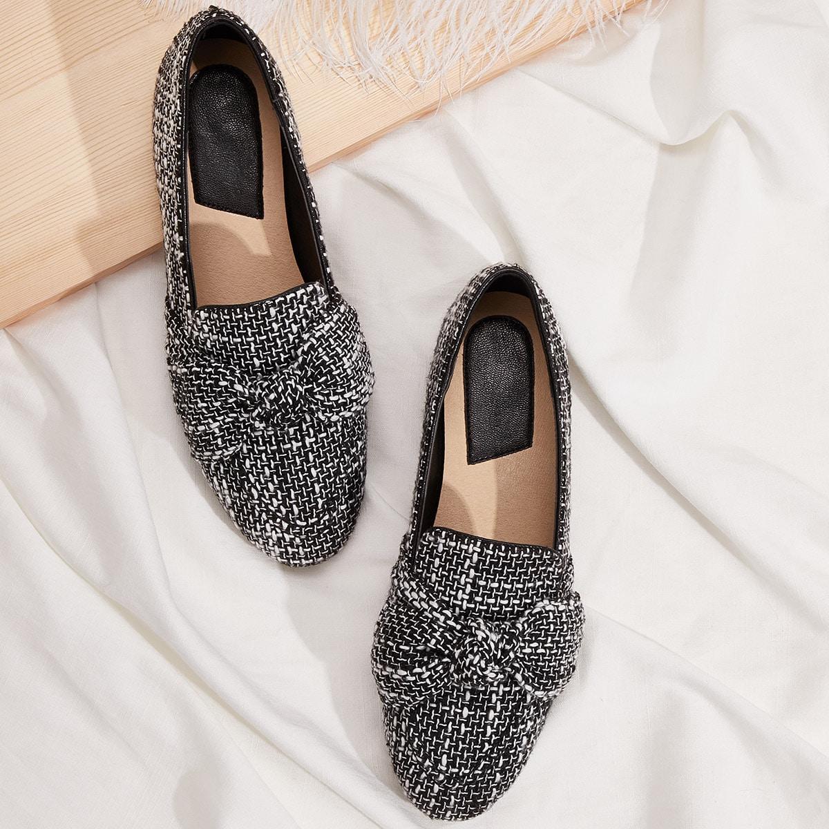 Zwart & wit Comfortabel Ballerina's
