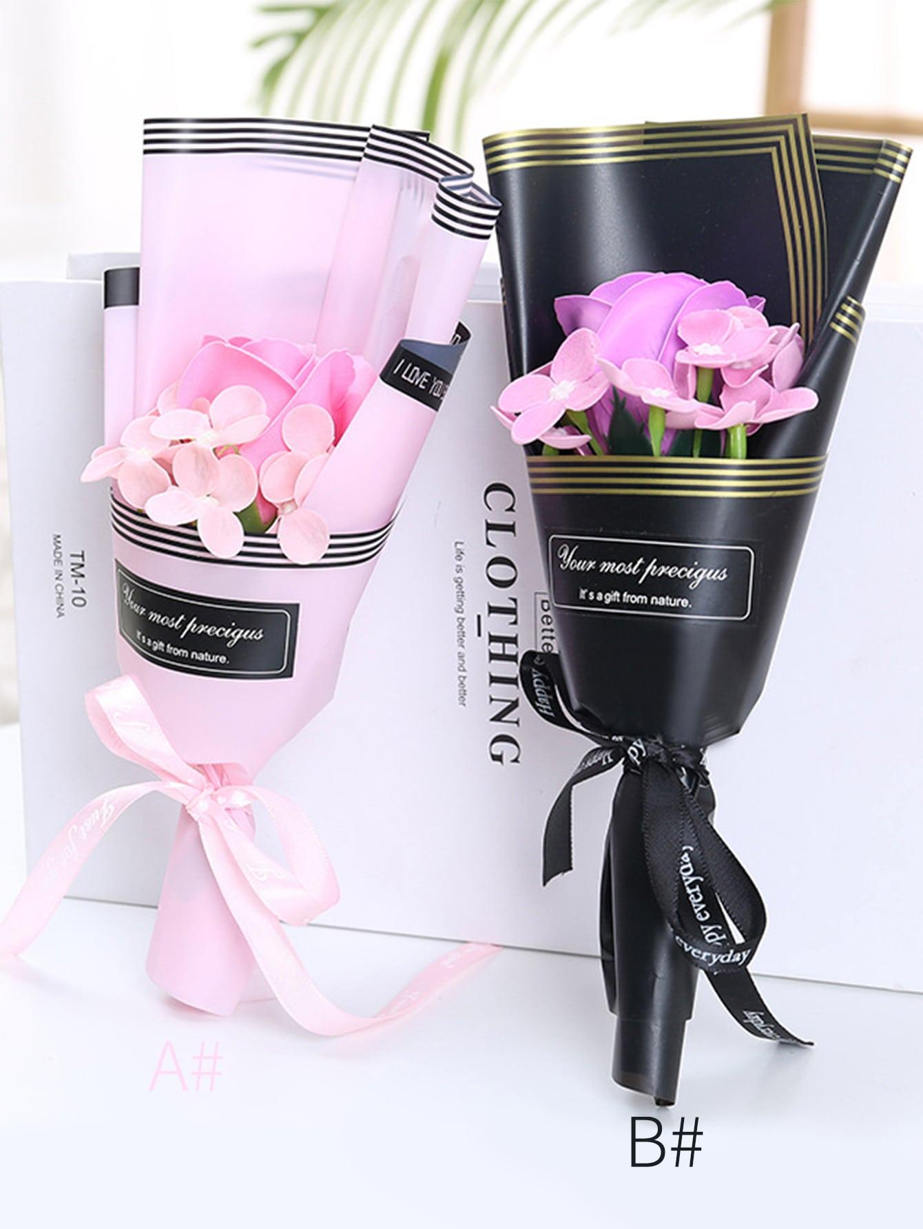 1pc Artificielle Bouquet de Fleurs