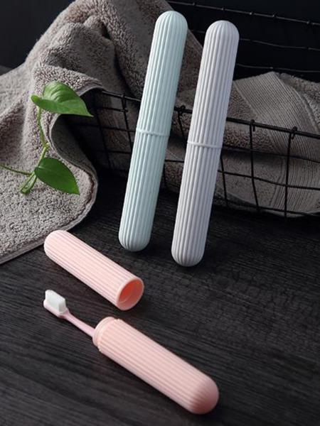 1pc Travel Portable Toothbrush Storage Box
