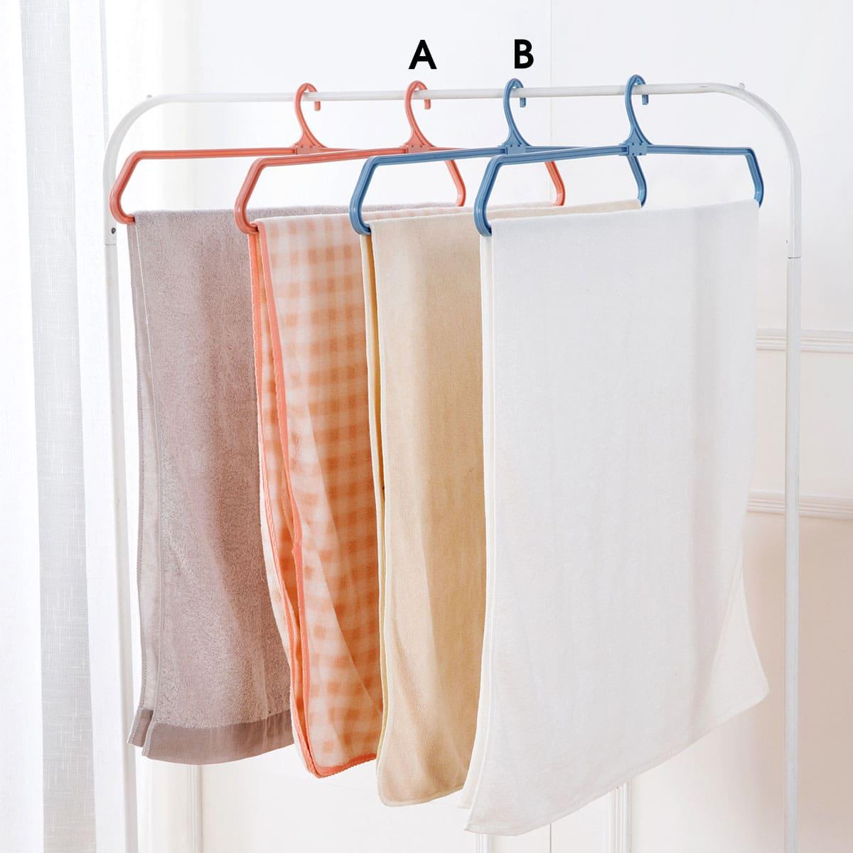 1pc plastic opvouwbare handdoekhanger