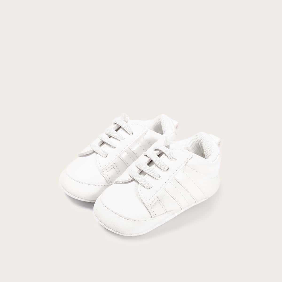 Кроссовки на декоративных шнурках для девочек от SHEIN