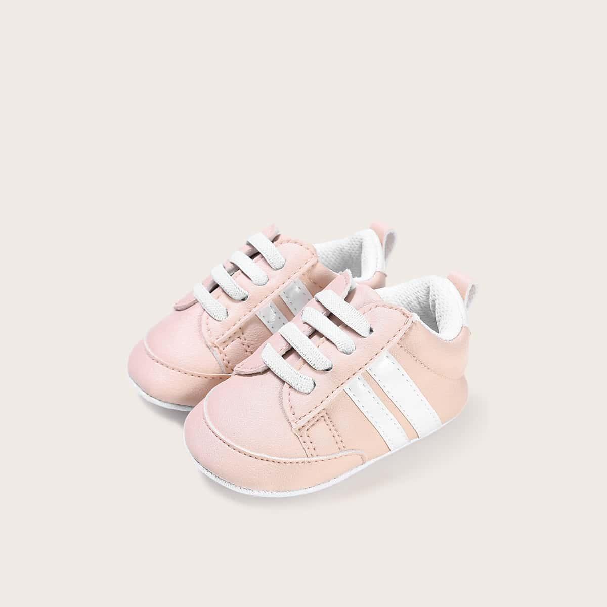Полосатые кроссовки для девочек от SHEIN