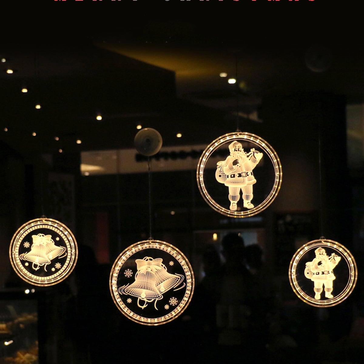 1 st 3D Kerstpatroon Hanglamp
