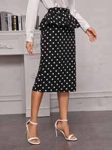 Ruffle | Polka | Skirt | Dot