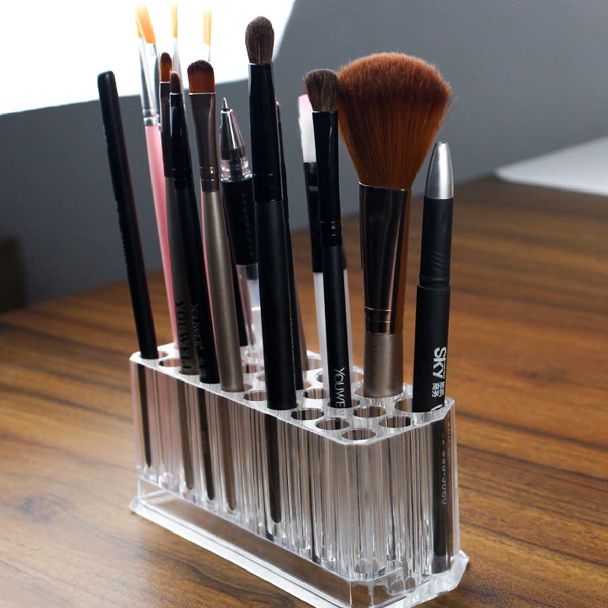 1pc helder 26-gaats make-up opbergborstel