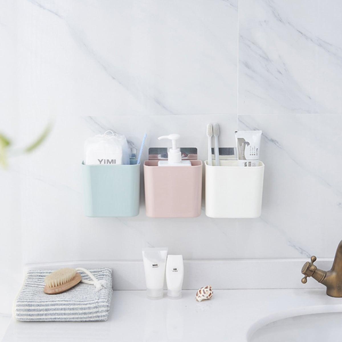 1pc badkamer wandmontage opbergdoos
