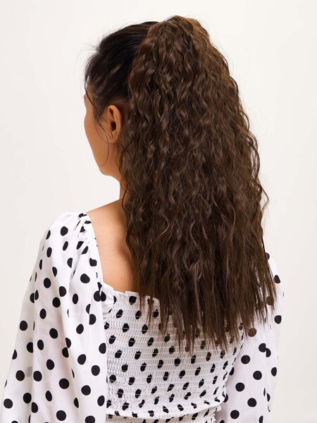 Long Curly Ponytail Wig