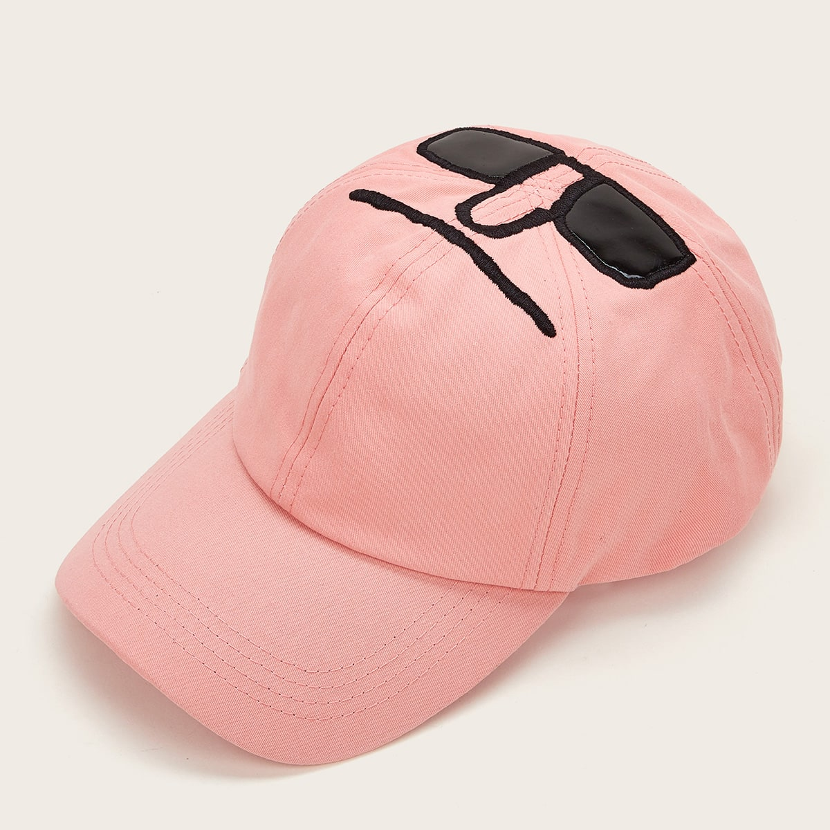 Heren zonnebril borduurwerk baseball cap