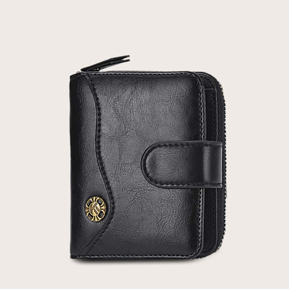 Мужской кошелек с молнией от SHEIN