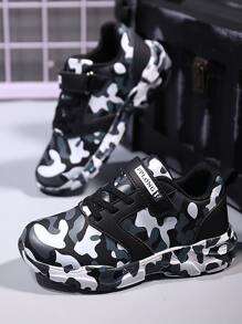 Camouflage | Sneaker | Velcro | Strap