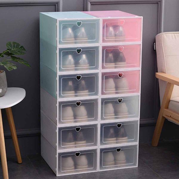 1pc Random Drawer Design Shoes Box, Multicolor