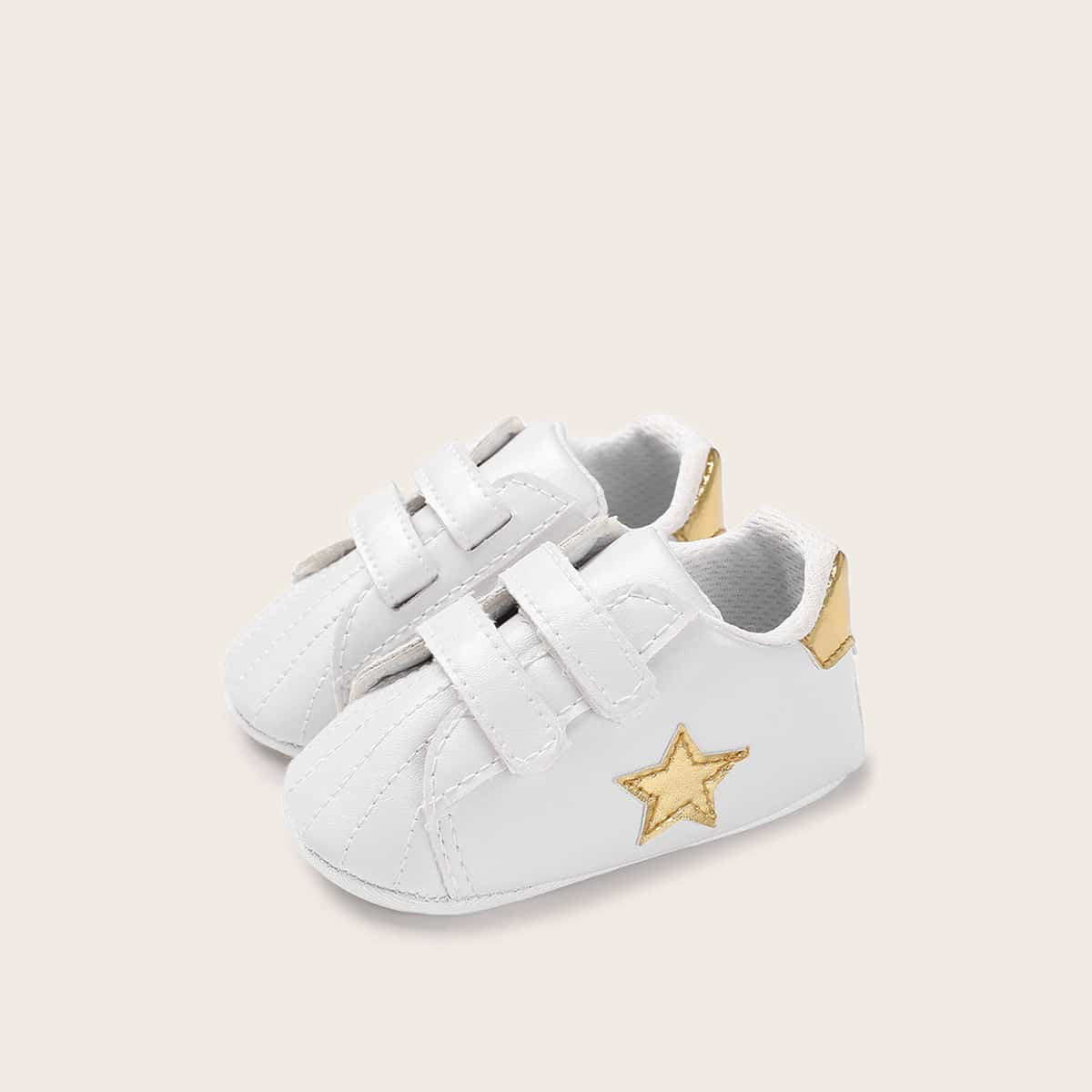 Baby Girl Star Patch Decor sneakers