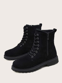 Suede | Front | Boot | Men