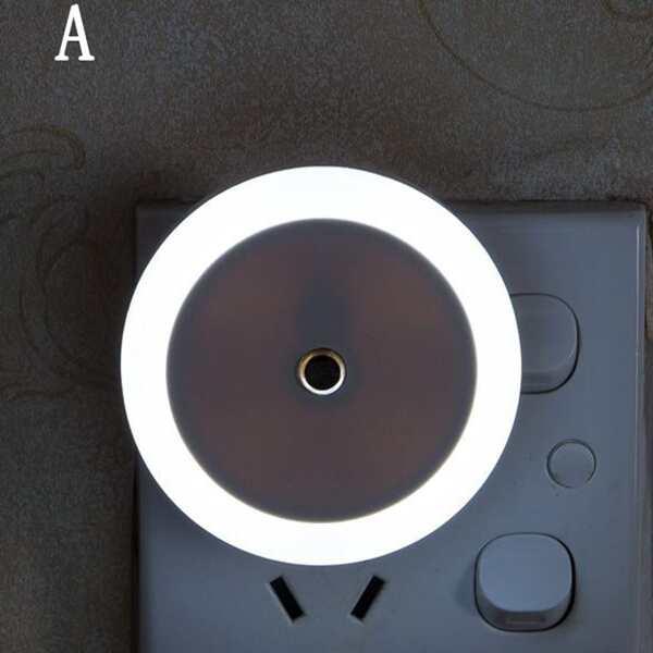 1pc Light Sensor Control Night Light, Multicolor