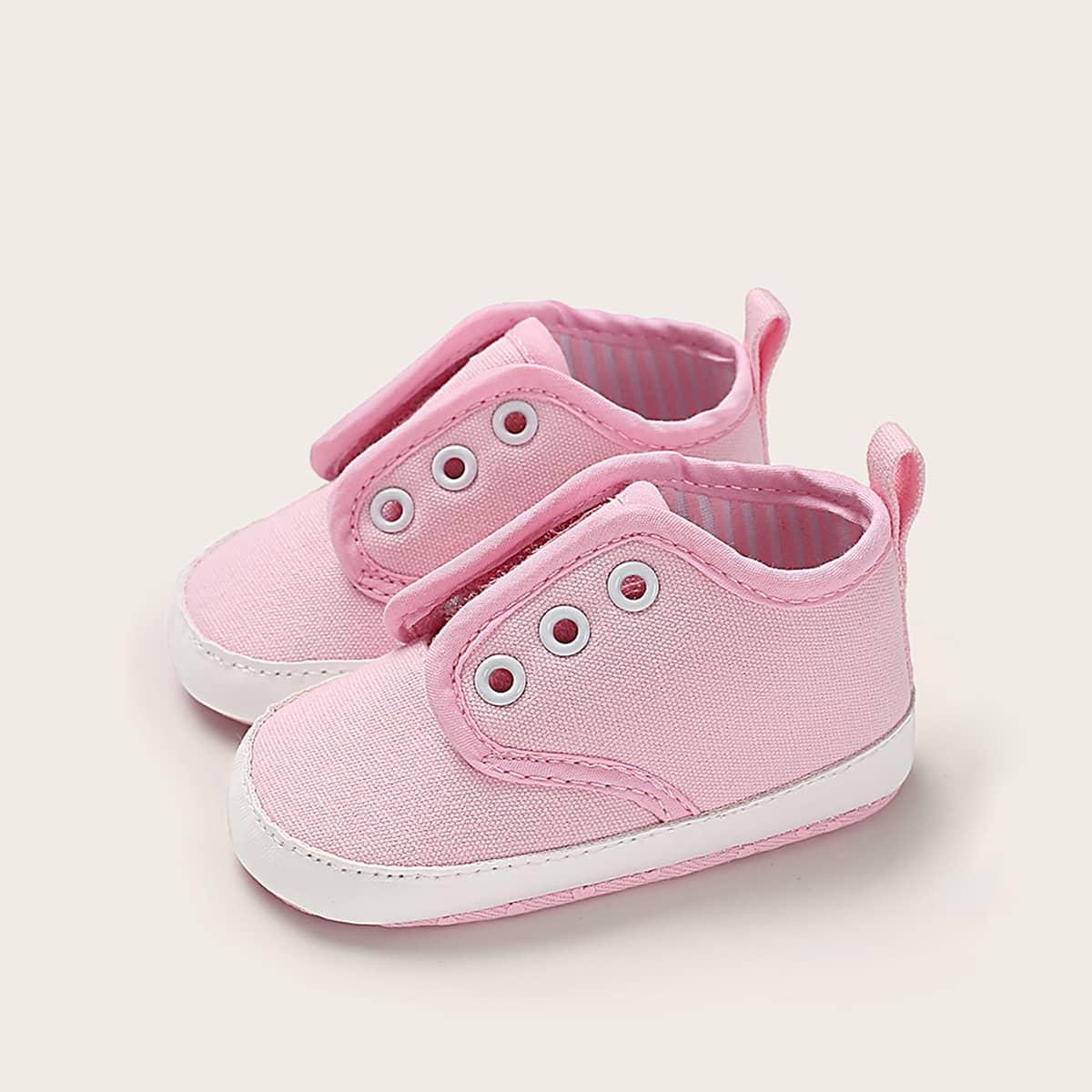 Roze  Comfortabel Vlak Baby sneakertjes