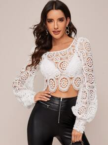 Sleeve | Sheer | Lace | Top